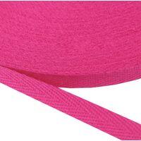 Keperband 10mm (100% katoen) - Pink