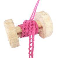 Kant Gehaakt Boogjes 6mm - Pink