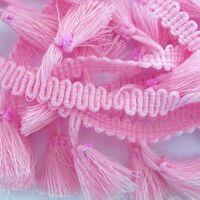 Tasselband 38mm - Roze